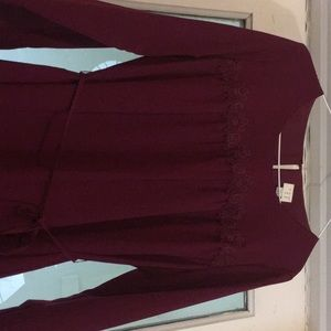 Brand New purple Andeawy Dress.